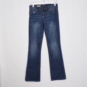Kut From the Kloth Farrah Baby Boot Medium Jeans 8